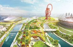 Queen Elizabeth Olympic Park by James Corner Field Operations