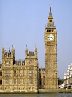 Big Ben Clock Tower. London, England.