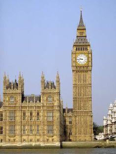 Big Ben Clock Tower. London, England.