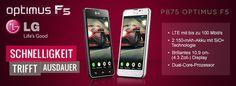 Das brandneue LG Optimus F5 ist erhältlich in unserem Shop getgoods.de