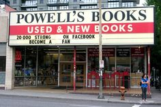 Powell's Book Store in Portland, Oregon is famous.  They have thousands of books and you can shop online.