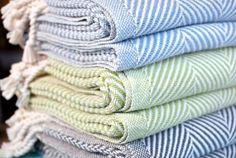 Cotton Herringbone Throws
