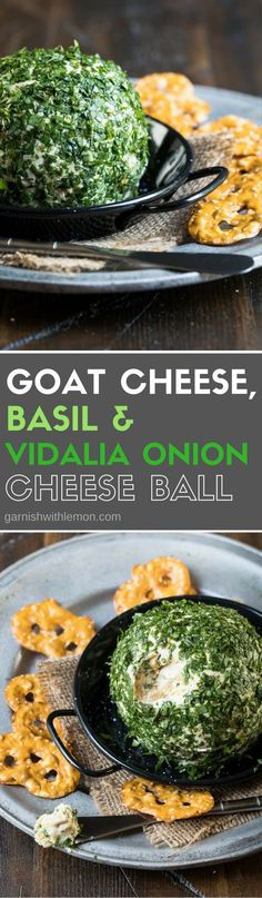 Who doesn't love a good cheese ball? This flavorful Goat Cheese, Basil &…