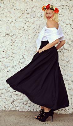 Just in: Summer Black Skirt TS08, Long Asymmetrical Black Skirt, High Waist Extravagant Skirt, Flared Party Skirt https://www.etsy.com/listing/271585353/summer-black-skirt-ts08-long?utm_campaign=crowdfire&utm_content=crowdfire&utm_medium=social&utm_source=pinterest