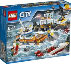 LEGO City Toys are available now! Swing by Mighty Ape to check out the entire LEGO City range. Lego Ninjago, Legos, All Lego, Lego Batman, Lego Disney, Lego Sets, Lego City Sets, Lego Coast Guard, Lego City