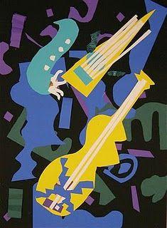 music collage- Matisse Jazz Series