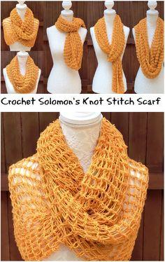 Scarf -Solomon's Knot