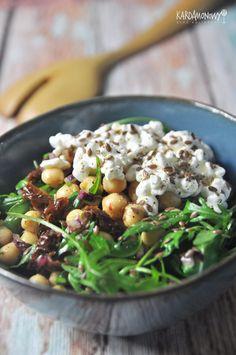 Pasta Recipes, Salad Recipes, Diet Recipes, Vegan Recipes, Vegan Food, Vegan Lunch Box, Clean Eating, Healthy Eating, Lunch To Go