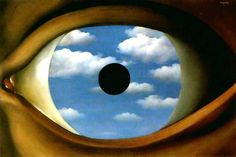 Magritte - Falso specchio