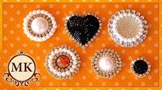 Канзаши/Серединки для канзаши/Kanzashi/Decoration for Kanzashi Flowers/Beaded Flower/Ola ameS DIY Diy Ribbon, Ribbon Work, Ribbon Crafts, Bead Crafts, Jewelry Crafts, Bead Embroidery Patterns, Beaded Embroidery, Beading Patterns, Craft Accessories