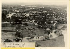 Aerial view of Napanee Prince Edward, Aerial View, Ontario, Vintage Photos, Paris Skyline, Travel, Outdoor, House, Outdoors