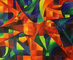 expressionism - horse Inspirami - Konstrunda - del 3 inspirami.blogg.se
