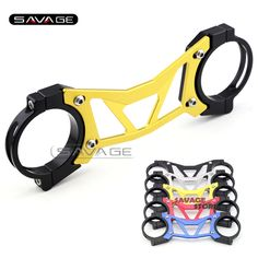34.99$  Watch now - http://alibng.shopchina.info/go.php?t=32716726793 - For HONDA CBR650F CB650F 2014-2015 Gold BALANCE SHOCK FRONT FORK BRACE Motorcycle Accessories  #bestbuy