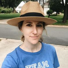 Kate Middleton wore a belted dress with a fresh blowout to drop her kids off at school. I wore a TEAM OPTIMIST t-shirt and a cheap fedora to hide my dirty day-3 hair. Its hard to say whos winning at life.