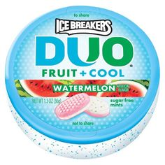 Ice Breakers Duo Watermelon Sugar-Free Mints 1.3 oz
