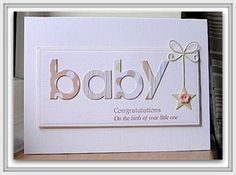 Baby star by: Chrissys4cards