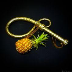 Плётка нагайка золотая 90см – купить в интернет-магазине на Ярмарке Мастеров с доставкой