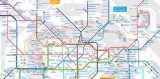plan metro londres