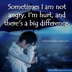 I usually cover my #hurt with anger though because I don't like having people see me cry. ~ #CynthiaSuzumiya
