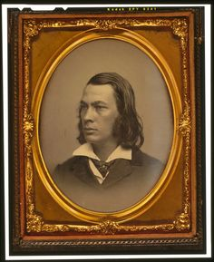 George Lippard, novelist and friend of Edgar Allan Poe, head and shoulders portrait, c.1850. Library of Congress.