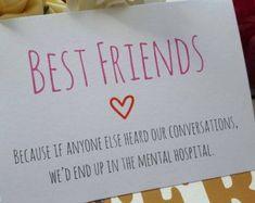 Carina carta amicizia Matchbox / contenitore di di 3XUdesign Presents For Friends, Cute Friend Gifts, Best Friend Cards, Best Friend Birthday Cards, Cute Birthday Cards, 25 Birthday Gift, Bff Gifts, Cute Friends, Diy Gifts For Best Friends