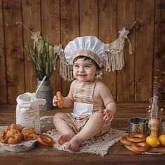 Monthly Baby Photos, Monthly Pictures, Baby Pictures, Baby Boy Photography, Children Photography, Boy Birthday Pictures, Baby Baker, 1st Birthday Photoshoot, Margaret Bourke White