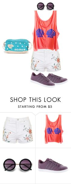 """""""Chained 37"""" by ashyrosepetal on Polyvore featuring Topshop and adidas"""