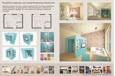 Проект малогабаритной квартиры для актёра. Разработка компактной мебели, включающей в себя спальное место, рабочую зону, систему хранения и гардероб.