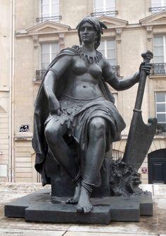 """""""L'Amérique du Nord"""" de Eugène Hiolle_Musée d'Orsay_Paris (France)_2014-05-08 © Hélène Ricaud-Droisy (HRD)"""