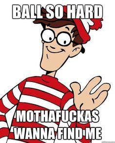 Where's Waldo #humor hahahaha
