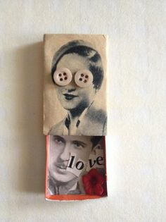 Collage matchbox by Jelens.