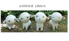 I love Nathalie Choux illustrations and Sculptures!