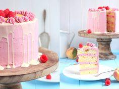 Himbeer-Champagner-Cupcakes mit italienischer Buttercreme Müsste ich unter allen Tortencremes einen Liebling benennen, wäre dies echt s...