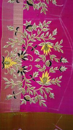 Black Blouse Designs, Best Blouse Designs, Wedding Saree Blouse Designs, Pattu Saree Blouse Designs, Hand Work Design, Zardozi Embroidery, Maggam Work Designs, Hand Embroidery Designs, Embroidery Stitches