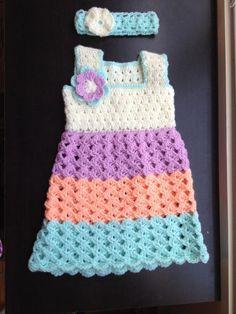 Baby dress - standard bodice crochet tutorial in Tamil/English