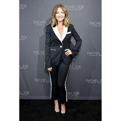rebecca dane celebrities at rachel zoe fashion show
