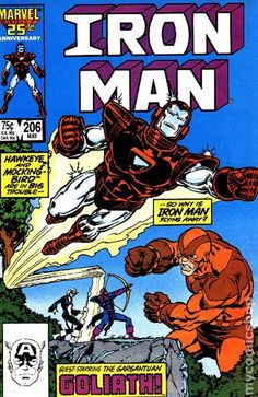 IRON MAN (Series Began (INVINCIBLE IRON MAN)(MARVEL) Issue comics in Fine condition. Published by Marvel. Fine - An exceptional, above-average copy that shows minor wear but is still relatively flat and clean with slight creasing or minor defects. Iron Man Comic Books, Marvel Comic Books, Comic Books Art, Marvel Comics, Comic Art, Book Art, Comic Books For Sale, Vintage Comic Books, Vintage Comics