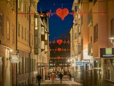 Festive lighting that continues to deliver well at Valentines Day | MK Illumination  #valentine #mkillumination #love #hearts #festivelighting #decorations