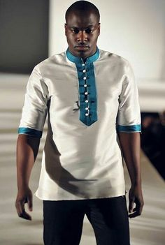 Discover recipes, home ideas, style inspiration and other ideas to try. African Attire For Men, African Clothing For Men, African Shirts, African Print Dresses, African Wear, African Dress, African Inspired Fashion, African Print Fashion, Gents Shirts