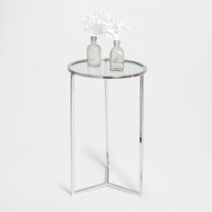 Image of the product Crystal and metal little table