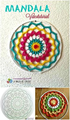 I have prepared a very interesting and useful post on chic crochet dream catcher – free patterns that will really help you out to make your own dream catcher:;Crochet Mandala Dream Catcher Knitting TechniquesKnitting For KidsCrochet PatronesCrochet Baby Crochet Wall Art, Crochet Wall Hangings, Crochet Home, Crochet Gifts, Motif Mandala Crochet, Crochet Stitches, Crochet Patterns, Knitting Patterns, Crochet Doilies