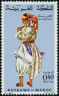 Costumes traditionnels : citadine (1968)