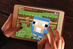 Autcraft-> Minecraft played on an invite-only server for children with autism and their families. The online community discourages bullying by providing a safe place for kids to play  (and mayve practice social skills)