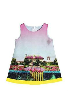 Moschino Baby cotton poplin dress