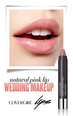 Follow this easy step-by-step guide to creating a natural pink lip on your wedding day using COVERGIRL Jumbo Gloss Balm Sheers in Ballet Twist. Step 1: Start with freshly scrubbed lips for a smooth, clean base. Step 2: Apply Colorlicious Jumbo Gloss Balm Sheers in Ballet Twist generously to lips starting from the center and working your way out.