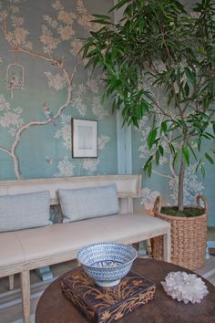Mark D. Sikes | Chinoiserie Gracie Wallpaper