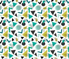 © Heleen van den Thillart - You are permitted to sell items you make with this fabric, but request you credit Heleen van den Thillart as the designer. Please feel free to send me pictures of finished projects on Spoonflower or instagram (@heleen_vd_thillart). Thank you!