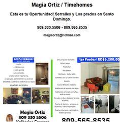 Magia Ortiz / Timehomes Esta es tu Oportunidad! Serralles y Los prados en Santo Domingo. 809.330.5506 - 809.565.8535