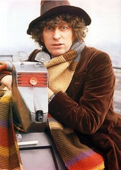 Tom Baker (BEST DOCTOR) and K9. Yes, I have thought about cosplay with Storm.