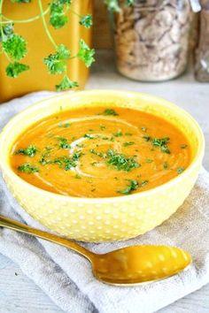 kruidige wortel puntpaprika soep 1